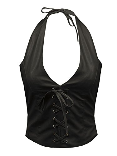 Envy Boutique - Camiseta sin mangas - para mujer negro