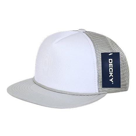 Buy DECKY 224-GRY Two Tone Flat Bill Foam Caps 8c1a8767fbf