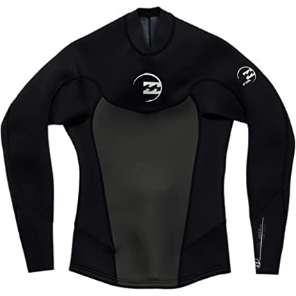 Amazon.com   Billabong Foil Jacket 2mm Men s Long Sleeve Neoprene ... 80fcd7cad