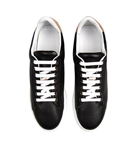 In A Nera Pelle Dettagli In Donne E Italia In Sneakers Oro Rosa Mano 5zxwfFqZt