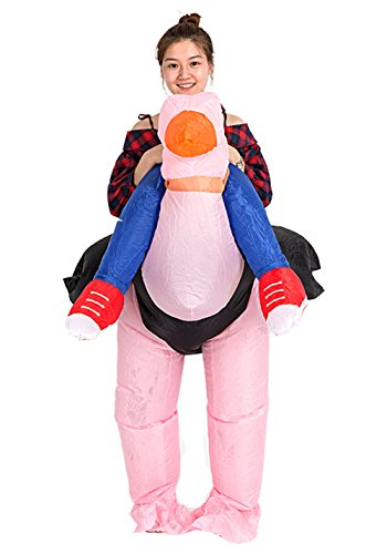 Inflatable Adult Ride Me Costume Piggyback Ride