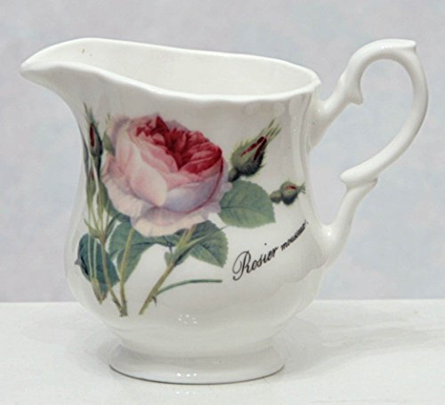Roy Kirkham Redoute Rose - Cream Jug - Fine Bone China