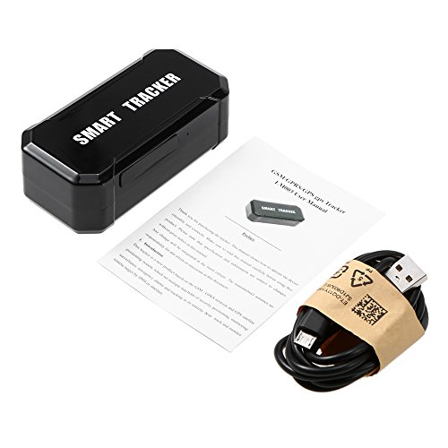 Lixada// Mini Portable USB Rechargeable Magnetic Vehicle GPS Tracker Wireless Outdoor Cycling Tracking System Real Time Locator Anti-Theft by Lixada/ (Image #1)