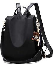 Mochilas antirrobo para mujer, carteras, bolsos de viaje Oxford impermeables, bolsos de hombro ligeros para mujer, ligeros y sin carga
