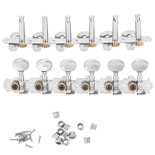 Guitar Tuning Pegs, Zinc Alloy Locking Tuners Machine Heads Tuners Tuning Button Accessories for 12 String Guitar