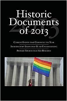 Descargar Libros Ebook Historic Documents Of 2013 Epub Libre