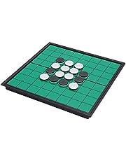 Beada Magnetisk bärbar hopfällbar Reversi Othello brädschack standard pedagogiskt hem förälder-barn familjespel