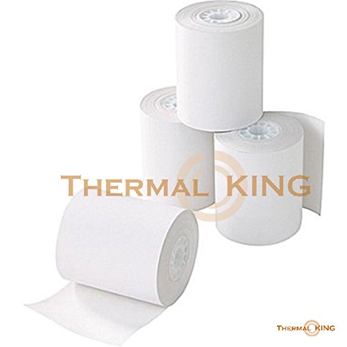"Thermal King, Point-of-Sale Thermal Paper Rolls, 3 1/8"" x 230', 10 Rolls"