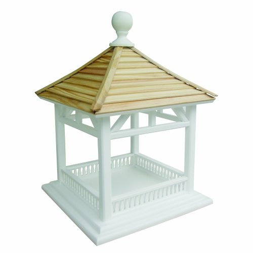 Home Bazaar Dream Birdhouse Feeder, Pine Shingle Roof ()