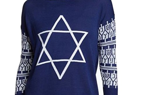 Ugly Chanukah Sweater Jewish Star