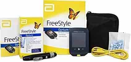 Medidor de glucosa y cetona Freestyle Optium Neo: Amazon.es: Salud y cuidado personal