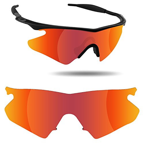 Fiskr Anti-Saltwater Replacement Lenses for Oakley M Frame Heater Sunglasses - Various - Frames Salt Glasses