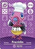 Franklin - Nintendo Animal Crossing Happy Home Designer Amiibo Card - 216