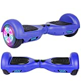 Felimoda Hoverboard, w/Bluetooth Speaker for Kid and Adult- UL2272 Certified (Blue)