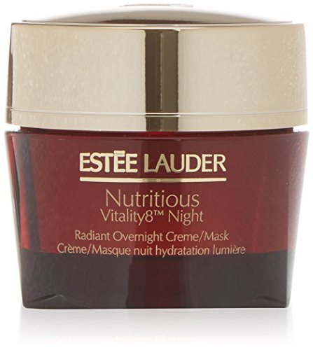 - Estee Lauder Nutritious Vitality8 Night Radiant Overnight Creme/Mask, 1.7 Ounce