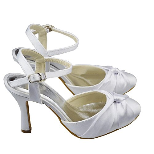 Kevin Fashion - Zapatos de boda fashion mujer Bianco