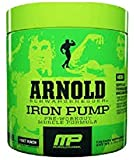 Arnold schwarzenegger Iron Pump Pre-Workout Muscle Formula, Fruit Punch, 4.23 Oz
