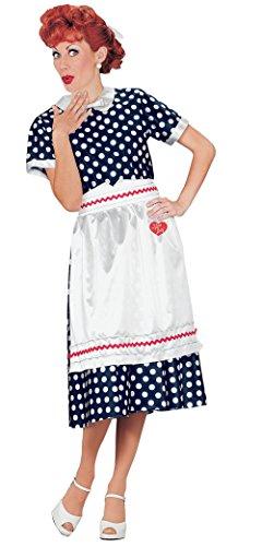 Dress Costume Dot Polka Halloween (I LOVE LUCY POLKA DOT DRESS)