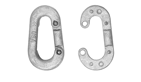 7100 lbs Load Capacity Campbell 753-G Drop-Forged Carbon Steel Pear Shaped Connecting Link 3//4 Trade Galvanized