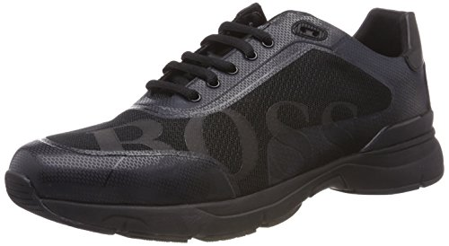 Patron Chaussure De Herren Velocity_runn_logo2, Schwarz (001 Noir)