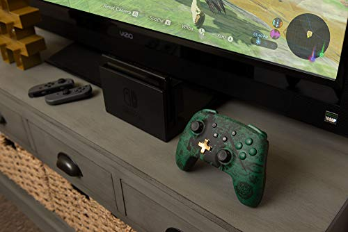 PowerA Enhanced Wireless Controller for Nintendo Switch - Link Silhouette 5