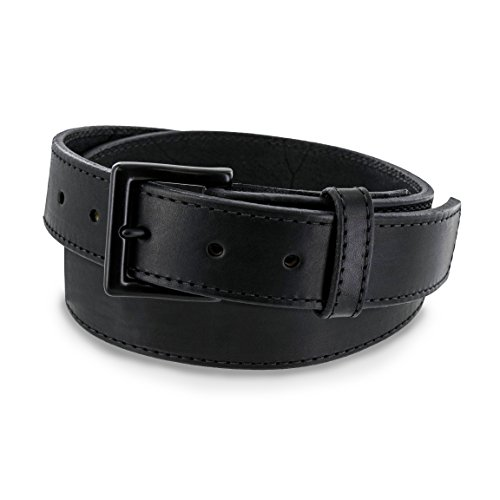 Hanks BREAK Black LEATHER BELT