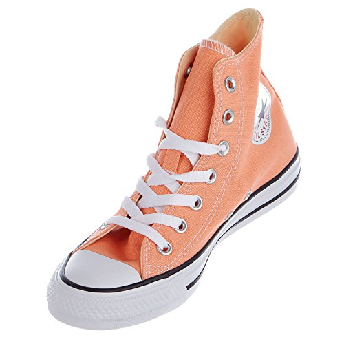 (Converse Womens Chuck Taylor All Star HI Sneakers Sunset Glow Womens 7)