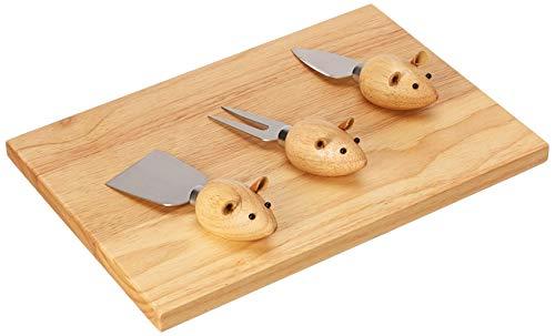 (Kikkerland Mouse Cheeseboard Set)