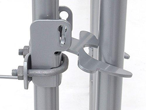 Lucky Dog Galvanized Chain Link Kennel (5' x 5' x 4')