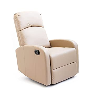 Astan Sillón Relax reclinable Modelo Comfort Premium con Sistema Pared Cero (Topo - Marrón Claro)