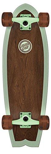 Santa Cruz Skate Classico 8.8in x 27.7in Cruzer Shark Complete - Shark Complete Skateboard