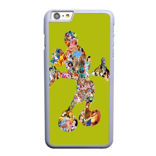 Coque,Coque iphone 6 6S 4.7 pouce Case Coque, Minnie Mouse Walt Disney Cover For Coque iphone 6 6S 4.7 pouce Cell Phone Case Cover blanc