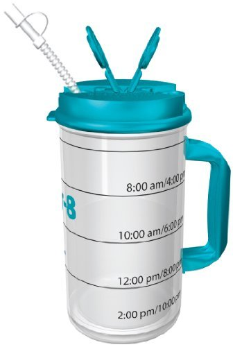 a70c81a6bc Hydr-8 Water Bottle – Time Marked Air Insulated 32 Ounce Mug – Bug ...