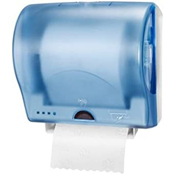 Tork ah192 dispensador de papel toalla de mano electrónico, plástico, azul