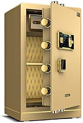 Convencionales Cajas Fuertes Caja Fuerte electrónica for el hogar con contraseña de Huella Digital Mediana doméstica Caja Fuerte Oficina Caja Fuerte Grande Cajas Fuertes: Amazon.es: Hogar