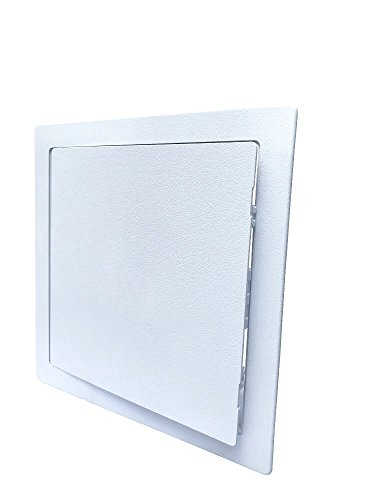 SUMASAI Plumbing Access Panel Access Panel 12 x 12 inch Access Door with Removable Hinged Door. Durable Plastic Drywall Access - Plate Inspection Surface