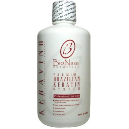 BioNaza KeraVino Brazilian Keratin Treatment 32 oz (No Wait Time)
