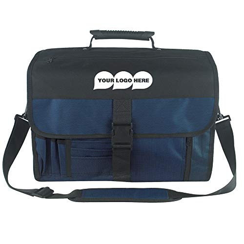 Deluxe Expandable Briefcase Leather - Expandable Deluxe Briefcase - 20 Quantity - $12.60 Each - PROMOTIONAL PRODUCT/BULK/BRANDED with YOUR LOGO/CUSTOMIZED