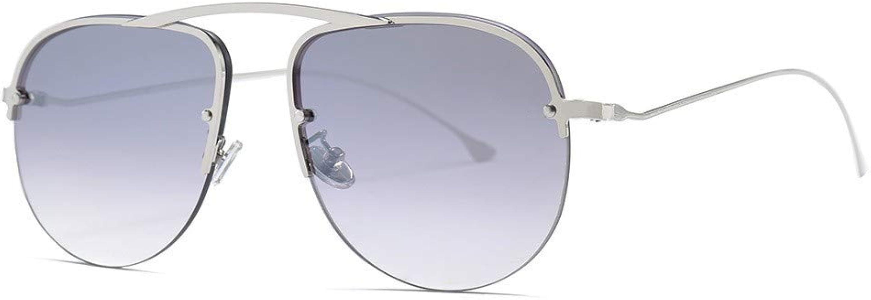 Gafas de sol de moda para mujer Gafas de sol de un solo haz ...
