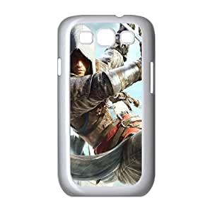 Assassins Creed Black Flag Samsung Galaxy S3 9300 Cell Phone Case White W9879335
