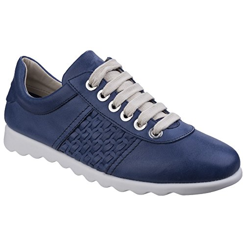 Flexx Denim up Lace Womens Ladies Trainers Champy The Diamante zqpwdq