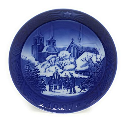 Royal Copenhagen 1997 Year Plate ' Roskilde Cathedral ' [ Parallel Import Goods -
