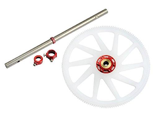 Microheli Titanium Main Shaft/CNC Delrin Main Gear/Auto-Rotation Hub set (R) - BLADE 230 S - Delrin Main Gear