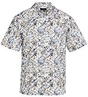 Theory Men's Weldon Sketched Floral Short Sleeve Shirt