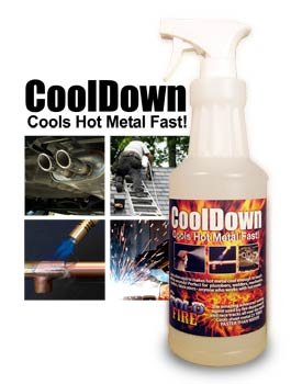 Rdr Technologies Cd32 Cool Down Cools Hot Metal In Seconds (CD32)
