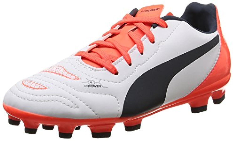 Puma Evopower 4 2 Ag, Boys' Football Training Shoes, Blue, 1 UK