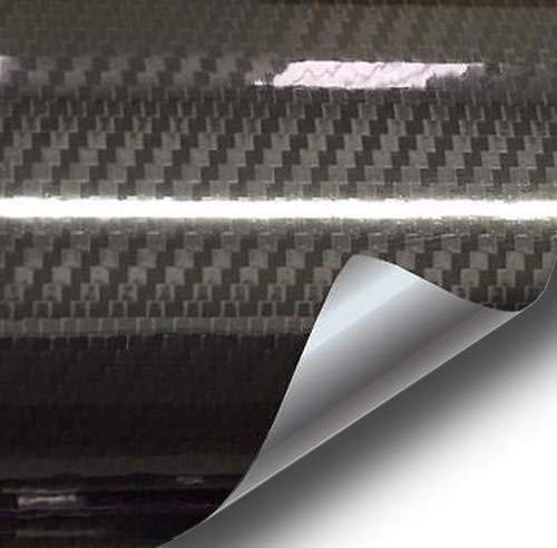 VVIVID Epoxy High Gloss Black Carbon Vinyl Automotive Wrap Film