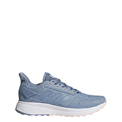 adidas Women's Duramo 9, raw ash Grey, 5 M US