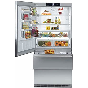 Liebherr CS2061 19.4 Cu. Ft. Gray Counter Depth Bottom Freezer Refrigerator Energy Star