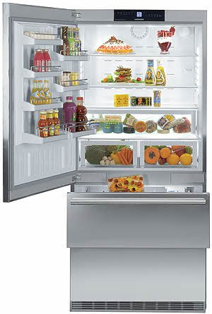 liebherr-cs2061-194-cu-ft-gray-counter-depth-bottom-freezer-refrigerator-energy-star